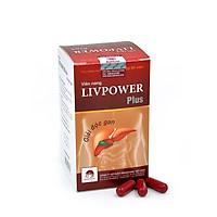 Thực phẩm chức năng Biovaccine - Viên giải độc gan Liverpower (Hộp 60 viên) - Giải độc gan, hạ men gan, tăng cường chức năng gan