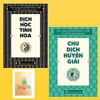 Combo Chu Dịch Huyền Giải và Dịch Học Tinh Hoa ( Tặng Kèm Sổ Tay Xương Rồng)