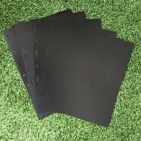 Combo 5 phơi cản đen dụng cụ sưu tầm bằng nhựa dẻo, bền chắc, tiện ích, có 9 lỗ phù hợp với nhiều loại Album - TMT Collection - SP000836