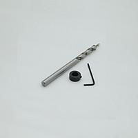 Mũi khoan xiên 2 tầng trụ xoắn trắng 4.2-9.5mm  dài 160mm
