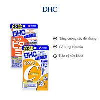 Combo Viên uống DHC Hỗ Trợ Sức Khoẻ (VitC & Multi)