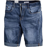 Quần short jeans nam , quần sort nam eo co dãn trơn lịch lãm mẫu J69 săn lai thiết kế phong cách thời thượng lôi cuốn dạo phố Julido thời trang hàn quốc trung niên