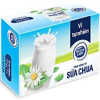 Thùng Sữa Chua Uống Lên Men Tự Nhiên Dutch Lady Vị Tự Nhiên (12 hộp x 1L)