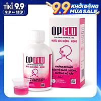 Nước súc miệng diệt khuẩn răng miệng Opflu 250ml