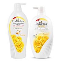 Bộ Dầu gội Enchanteur Charming 650ml và Sữa tắm Enchanteur Charming 650ml
