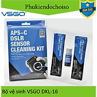 Bộ vệ sinh Sensor APS-C VSGO DDR-16, Hàng nhập khẩu