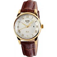 Đồng hồ nữ dây da Skmei 9058CL