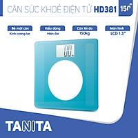 Cân sức khoẻ điện tử Tanita HD381 Nhật Bản, Cân tanita, chính hãng nhật bản,cân điện tử,cân chính hãng,cân nhật bản, cân sức khoẻ y tế, cân sức khoẻ gia đình, cân sức khoẻ cao cấp,cân 120kg,cân 130kg,cân 150kg,Cân sức khoẻ mini