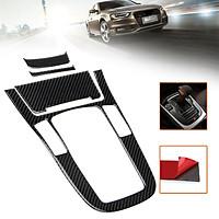 Carbon Fiber Look Gear Shift Panel Center Console Cover Trim For Audi A4L A5 Q5