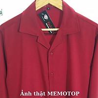 Áo sơ mi nữ form rộng kiểu Unisex Cổ Vest lụa mềm dài tay mặc công sở - Áo sơ mi cặp Ulzzang trắng đen đỏ đô xanh