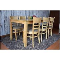 Bộ bàn ăn CB tự nhiên 6 ghế