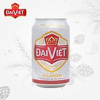 Lốc 6 Bia lon Đại Việt Pilsner 330 ml