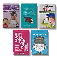 Bộ sách 5 cuốn: 101 cách dạy con thành tài + 50 sai lầm dạy con bố mẹ thường mắc phải + Mẹ quyết định 99% sự thành công của con + Đọc vị tâm trí trẻ + Đừng cố làm những bà mẹ hoàn hảo