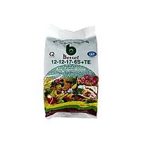 Phân bón Better xanh 12-12-17-6S (1kg/gói) | Chống rụng hoa và trái non | Chuyên dùng cho mọi loại cây