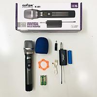 Bộ Mic không dây UHF Glosrik K81 K83 K84 - UHF Wireless Microphone Glosrik ( Dùng cho hát karaoke, livestream, thuyết trình) ) – Hàng chính hãng