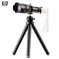 APEXEL APL-JS60XJJ09 Metal 60X HD Phone Telephoto Zoom Lens Kit Monocular Telescope with Mini Extendable Tripod Eye Cup