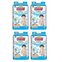 4 Gói Tã Dán Goo.n Premium Gói Cực Đại L50 (50 Miếng)