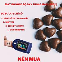 Máy đo nồng độ oxy trong máu có đen led (SpO2)