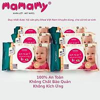 Combo 7 Gói Khăn Ướt Trẻ Em Mamamy 100 Tờ-Nắp