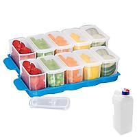 Combo 2 bộ 5 hộp đựng thực phẩm tủ lạnh Tashuan + 1 bình nước tủ lạnh 3 lít