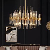 Đèn chùm pha lê cao cấp thiết kế sang trọng trang trí phòng khách, nhà hàng, quán cafe TPL-6808/800