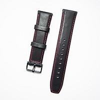 Dây da Hybird Size 22 cho Gear S3, Galaxy Watch Đen