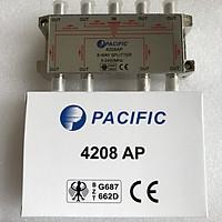Bộ Chia 8 Pacific 4208AP Dùng Chia Chảo, Truyền Hình Cáp, Anten KTS - Hàng Nhập Khẩu