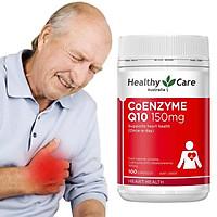 Viên uống bổ tim Healthy Care Coenzyme Q10 150mg chính hãng Úc 100 viên