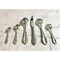 Bộ Phụ Kiện Bàn Ăn Cao Cấp Gồm 6 Món Dao Muỗng Nĩa Inox 304 18/10 Berndorf  - FIRENZE - ALL MIRROR - Stainless Steel  Cutlery