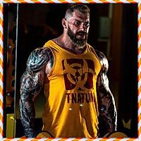 Áo Ba Lỗ Nam Tập Gym Mutant KINGDOM SPORT Nhập Khẩu – Tanktop Thể Thao Chất Cotton Co Dãn, Mềm Mịn, Mát Mẻ