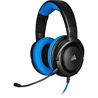Tai nghe Corsair HS35 Stereo Blue - Hàng chính hãng