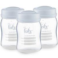 Bộ 3 bình trữ sữa Faztbaby FB0120N 150ml