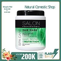 Kem ủ Salon Professional phục hồi và nuôi dưỡng các ngọn tóc yếu, dễ gãy rụng 1000ml
