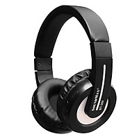 Tai Nghe Bluetooth Chụp Tai Soundmax BT-200 - Hàng Chính Hãng - Đen