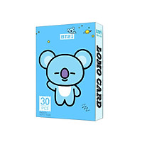Bộ Lomo card KOYA BT21 BTS mới nhất