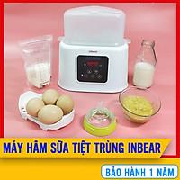 Máy Hâm Sữa & Tiệt Trùng Inbear 6 Chức Năng - Hâm Sữa, Tiệt Trùng, Hâm Thức Ăn, Đun Nước Pha Sữa, Rã Đông, Hẹn Giờ