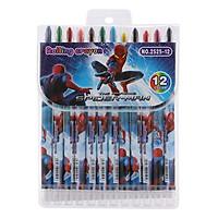 Sáp Vặn Dài Rolling Crayon 12 Màu (2525-12)