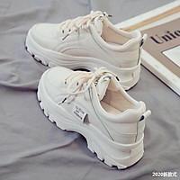 ( Giá Hủy Diệt) Giày slipon đế bằng tăng chiều cao
