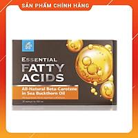 Essential fatty acids Beta-Carotene in Sea Buckthorn Oil - Bổ sung Vitamin E và Beta- carotene, đẹp da chống lão hóa.