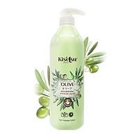Sữa tắm Kitsetsu Sáng da dưỡng ẩm - Olive, 950ml