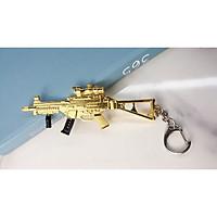 Móc khóa mô hình trong Game PUBG Mẫu 13 - Màu Vàng