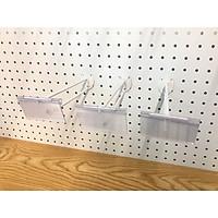 Combo 10 móc đôi gắn tôn lỗ 30cm sơn tĩnh điện (có nẹp giá)