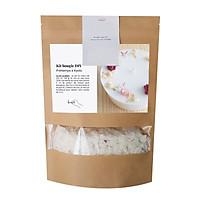 Bộ dụng cụ tự tạo nến DIY - Nến thơm sáp ong với hoa cúc bách nhật và hoa nhài 150ml