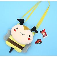 Túi đeo chéo cho bé gấu bông hình con ong