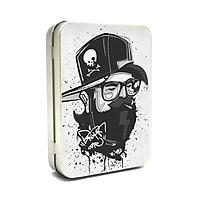 Hộp thiếc Vintage Box - Skull Man