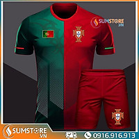 Áo bóng đá thể thao Tuyển Bồ Đào Nha - Đồ đá banh Độc Lạ 2020