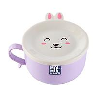Bát đựng mỳ chống nóng nắp thỏ dễ thương