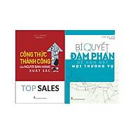 Combo 2 cuốn Công thức thành công của người bán hàng xuất sắc + Bí quyết đàm phán để nắm bắt mọi thương vụ
