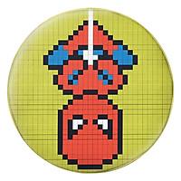 Gối Ôm Tròn Spiderman Pixel - GOFF167