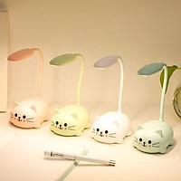 Đèn học để bàn hình mèo-đèn học mini-đèn bàn hình thú
